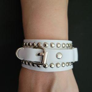 Unisex Gothic White bracelet